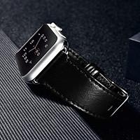 Dây da hàng hiệu iCarer cho Apple Watch - Hàng Chính Hãng