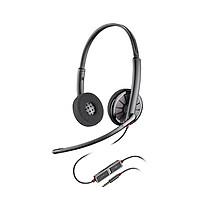 Tai nghe chụp tai có dây, mic khử tiếng ồn hỗ trợ đàm thoại Plantronics Blackwire 225 - Hàng chính hãng