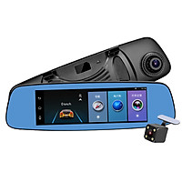 Camera hành trình gương tích hợp 4G, định vị dẫn đường GPS tích hợp cam lùi, công nghệ Bluetooth 4.0 E06 - Hàng nhập khẩu