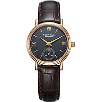Đồng hồ nữ dây da Thụy Sĩ TOPHILL TA021L.PZ3197