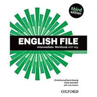 English File (3 Ed.) Inter: Workbook With Key - Paperback