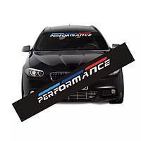 Tem dán kính lái chống nắng ô tô Performance 04