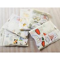 Combo 5 Bộ Quần Áo Trẻ Sơ Sinh Cao Cấp Sợi Cotton Fiber Bamboo Dành Cho Bé 3-6 Tháng Tuổi ( Màu Ngẫu Nhiên )