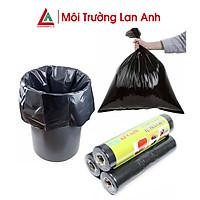 Túi đựng rác tự phân hủy màu đen dai dày bảo vệ môi trường, sử dụng tiện lợi, tiết kiệm