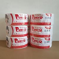 Combo (6 cuộn) giấy vệ sinh cuộn lớn 600g PONYO