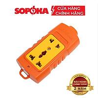 Ổ cắm điện lõi sứ chống cháy SOPOKA 6000W siêu chịu tải