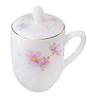 Ca trà có nắp Thủy tinh ngọc MP USA Homeset