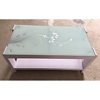 Bàn trà,  bàn sofa mặt kính cường lực cao cấp hiện đại BT003