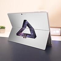 Skin dán hình Đa giác x08 cho Surface Go, Pro 2, Pro 3, Pro 4, Pro 5, Pro 6, Pro 7, Pro X