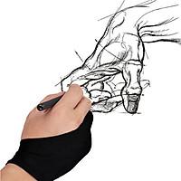 Găng tay chống chạm cảm ứng màn hình cho iPad DRAWING GLOVE ( Hàng chính hãng - Hàng Nhập khẩu)