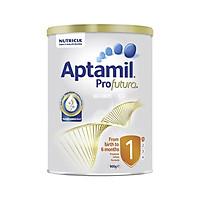Sữa Bột Aptamil Profutura Úc số 1. Cho bé Từ 0 - 6 tháng giàu dinh dưỡng, có hàm lượng canxi cao giúp bé phát triển chiều cao và cân năng, sữa mát và dễ hấp thu, tiêu hóa tốt nhờ công thức bổ sung thêm men tiêu hóa giúp bé hấp thụ dễ dàng,
