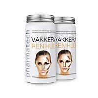 Thực phẩm bảo vệ sức khỏe Vakker/Ren Hud - Viên uống chống nám, ngăn ngừa lão hóa da