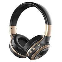 Tai nghe chụp tai Zealot hàng chính hãng âm thanh siêu trầm stereo Headphone kết nối bluetooth không dây với điện thoại máy tính chơi game nghe nhạc cực hay