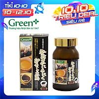 Viên tỏi đen, giấm đen Nhật Bản - Fermented Black Garlic Green+
