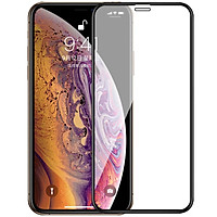 Miếng dán kính cường lực cho iPhone 11 Pro Max (6.5 inch) / iPhone Xs Max hiệu ANANK Nhật Bản (Full 3D, 0.2mm, phủ nano, chống tia cực tím, Mặt kính AGGC) - Hàng nhập khẩu