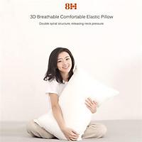 Original 8H 3D Breathable Comfortable Elastic Pillow Super Soft Cotton Antibacterial Neck Support Pillow