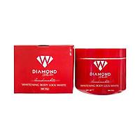 KEM BODY PHẤN TƯƠI DƯỠNG TRẮNG DA DIAMOND WHITE 250GR ( LOVE SKIN WHITE )