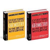Sách - Everything you need to ace Chemistry and Geometry - Sổ tay hóa và hình học ( Bộ 2 cuốn )