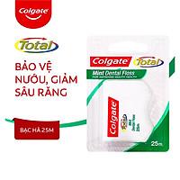 Chỉ nha khoa Colgate Total Dental Floss hương bạc hà