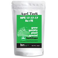 Phân bón NPK Agri-Tech NPK 17-17-17+TE (1kg)