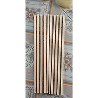 Bộ  10 thanh gỗ vuông kích thước 2x2x 50cm làm mô hình, thủ công, đồ chơi, trang trí
