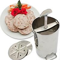 Khuôn làm giò 2 kg inox tiện dụng cho nhà bếp