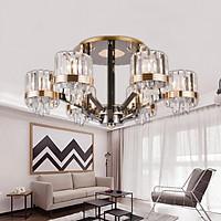 Đèn chùm pha lê cao cấp thiết kế sang trọng trang trí phòng khách, nhà hàng, nhà hàng, quán cafe 7526/6