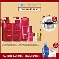 Bộ 5 sản phẩm chăm sóc Tsubaki giúp dưỡng tóc bóng mượt hoàn hảo và ngát hương không cần chờ