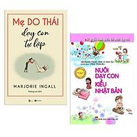 Combo Sách Bà Mẹ - Em Bé : Mẹ Do Thái Dạy Con Tự Lập + Nuôi Dạy Con Kiểu Nhật Bản ( Combo Sách Nuôi Dưỡng Tâm Hồn Gắn Kết Yêu Thương / Tặng Kèm Bookmark Greenlife )