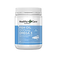 Dầu cá Omega 3 Australia Healthy Care Fish Oil 1000Mg 400 Capsules