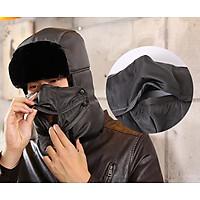 Mũ nam nữ (Mầu Ghi) MS68 Siêu ấm (mầu ghi)