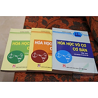 Combo sách Hóa Học Vô Cơ cơ bản – Hoàng Nhâm (tập 1 + tập 2 + tập 3)