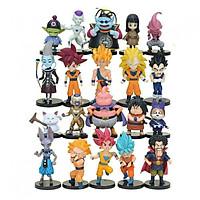 Bộ 20 Mô Hình Nhân Vật Trong Truyện Bảy Viên Ngọc Rồng - Dragon Ball ( cao 5-10cm)