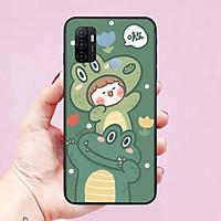 Ốp lưng điện thoại dành cho Oppo A53 Hình RoRo Jump Cute
