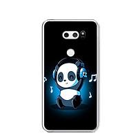 Ốp lưng dẻo cho điện thoại LG V30 - 0334 PANDA05 - Hàng Chính Hãng
