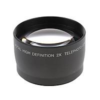 58mm 2x Telephoto Lens Teleconverter for Canon 1100D 1000D 600D 550D 500D 450D Digital Camera Universal
