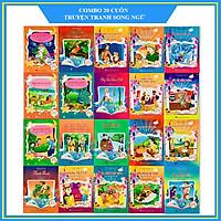 Combo 20 cuốn truyện tranh song ngữ Anh - Việt cho bé
