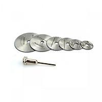 Bộ lưỡi cắt mini chân 6mm dùng cho máy khoan mài khắc