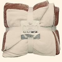 Made in Thailand: Chăn lông cừu Cashmere tuyết cao cấp Tiny Love, kích thước 200x230cm chính hãng chăn Xuân hè