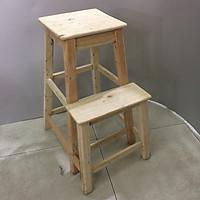 Ghế thắp hương (thắp nhang) - gỗ mộc n453