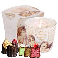 Ly nến thơm tinh dầu Bartek Raphael's Angels 115g QT028494 - bánh Canele Pháp