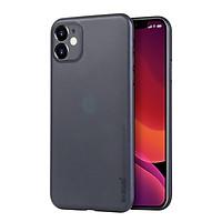 Ốp lưng lụa dành cho iPhone 11 6.1 chính hãng Memumi siêu mỏng 0.3mm