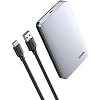 Hộp đựng ổ cứng 2.5 inch SSD HDD, chuẩn SATA hỗ trợ ổ cứng lên đến 6TB UGREEN US221 70498 - Hàng chính hãng