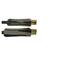 Cáp HDMI KM 2.0 100m Active Optical KH264,CÁP HDMI 100M CÁP QUANG CHUẨN 2.0-HÀNG CHÍNH HÃNG