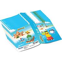 Lốc 10 Quyển Tập A5 Pokemon PLUS Loại 5 Ô Ly 96 Trang
