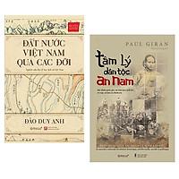 Combo Sách : Đất Nước Việt Nam Qua Các Đời (Bìa Cứng) + Tâm Lý Dân Tộc An Nam (Bìa Mềm)