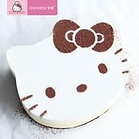Khuôn Làm Bánh Thép Không Gỉ Phiên Bản Hello Kitty CHEFMADE KT7033 (Khuôn 4/6/8 inch)