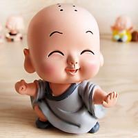 Tượng chibi chú tiểu Kung Fu