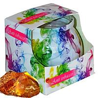 Ly nến thơm tinh dầu Admit Anti Tobacco 85g QT01884 - hương hổ phách