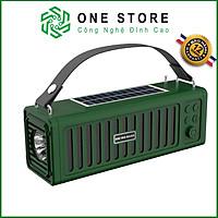 Loa Bluetooth, Loa không dây, loa sử dụng pin năng lượng mặt trời, có đèn pin, đài FM BBL23
